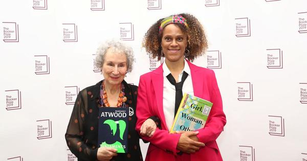 Margaret Atwood and Bernardine Evaristo share Booker prize 2019